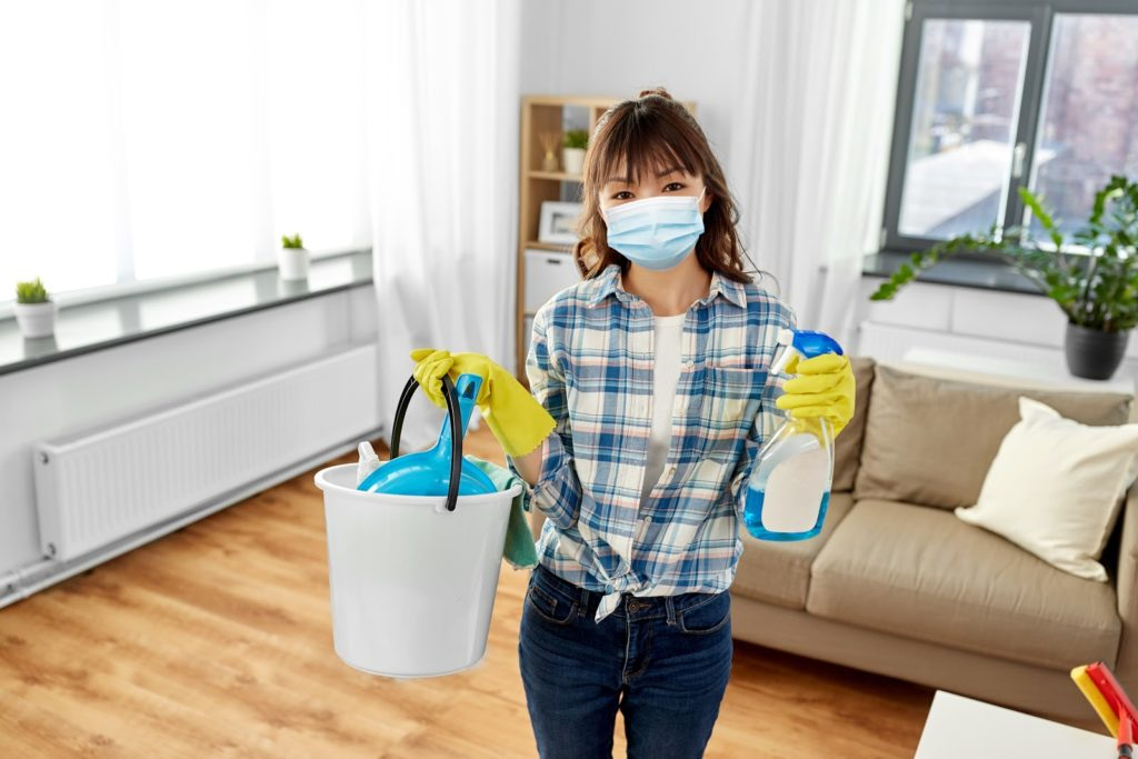 health and hygiene concept - smiling asian woman